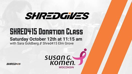 2020 Shred Events Wisconson.Shred Gives Come Join The Fight At Shred415 Elm Grove Elm