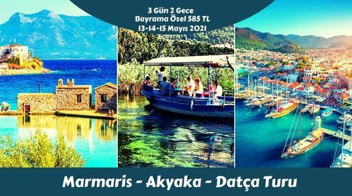 Marmaris Akyaka Datça Turu, 13 May | Event in Izmir | AllEvents.in