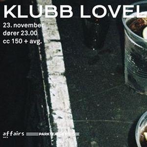 Klubb Loveless 49  Parkteatret