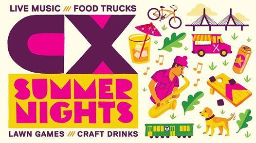 CX Summer Nights feat. Oompa  Ali McGuirk