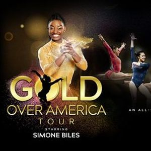 The GOLD OVER AMERICA TOUR starring SIMONE BILES St Louis Mo.