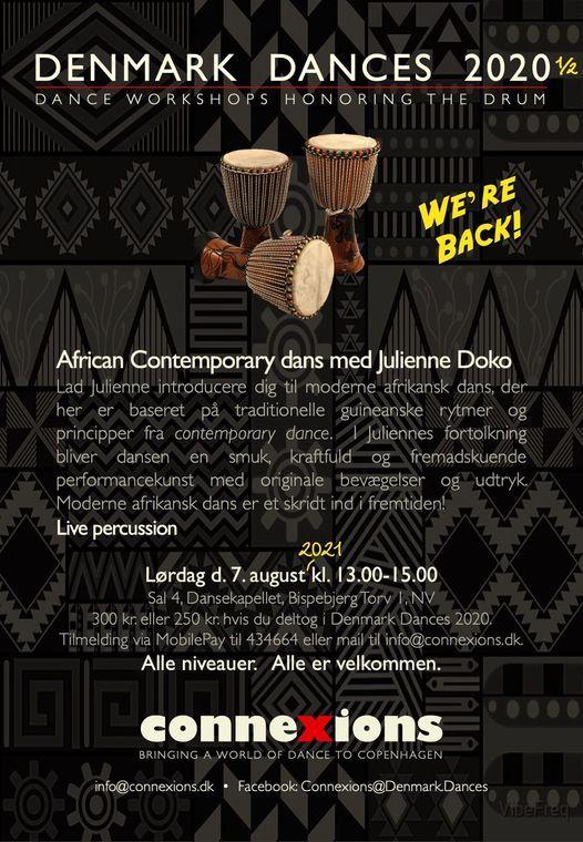 African Contemporary dans med Julienne Doko, 16 April   Event in Copenhagen   AllEvents.in