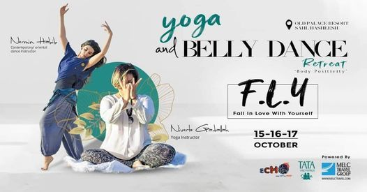 F.L.Y yoga and belly dance retreat . Fall in Love with yourself m | Event in Marsa Alam | AllEvents.in