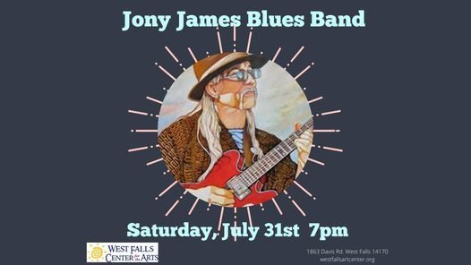 Jony James Blues Band, 31 July | Event in West Falls | AllEvents.in
