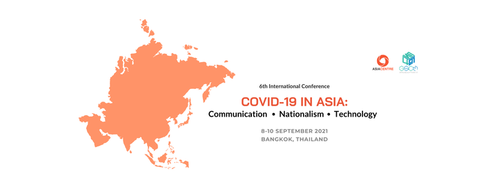COVID-19 in Asia: Communication, Nationalism and Technology, 8 September   Event in Klong Luang Peng   AllEvents.in