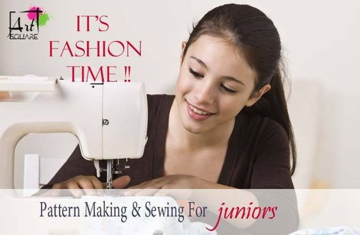 Pattern Making For Young Adults Course (12 - 15 years), 26 July | Event in Cairo | AllEvents.in