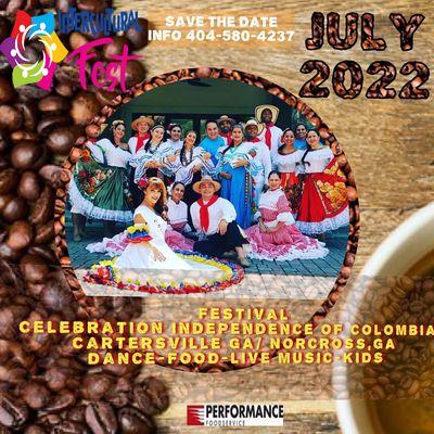 Independencia De Colombia en Cartersville  Gratis Entrada Free