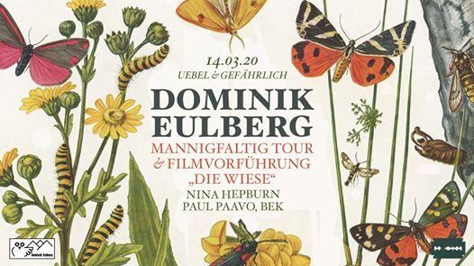 Dominik Eulberg - Klubnacht und Filmvorfhrung
