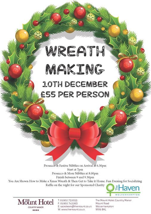 Wreath Making - 10th December