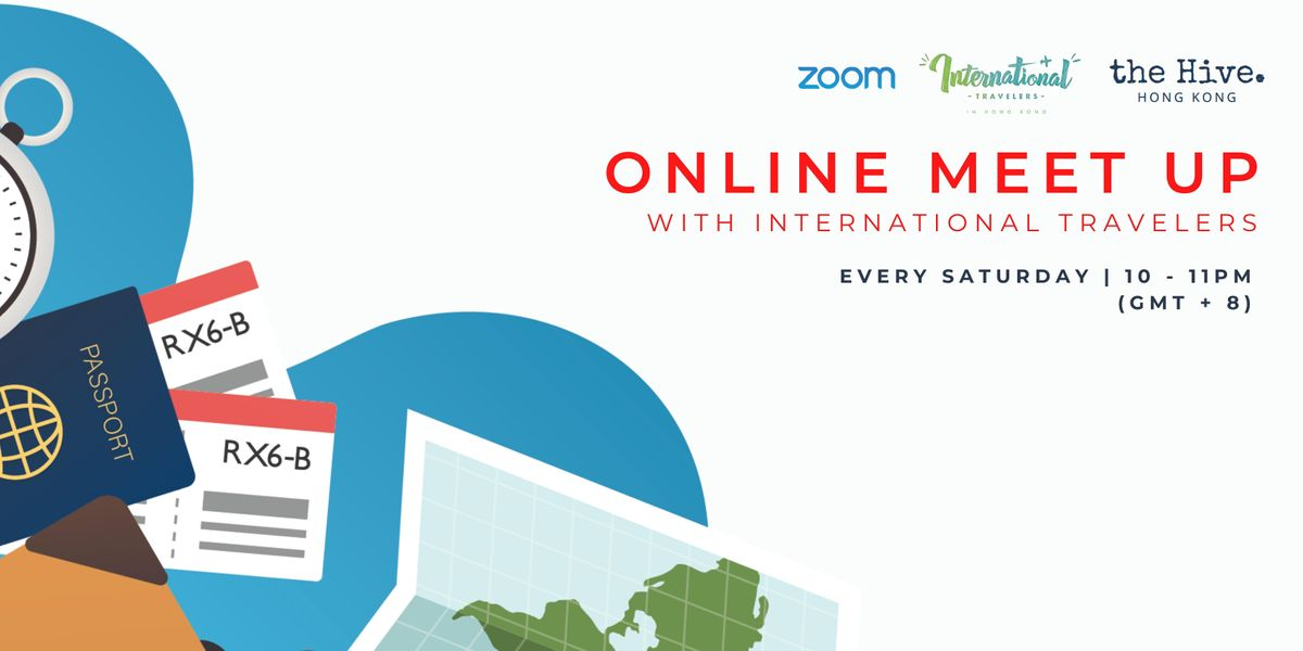 Online: Meet Up with International Travellers   Online Event   AllEvents.in