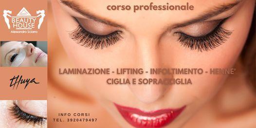 Corso di laminazione, lifting per ciglia e sopracciglia, 21 June   Event in Cagliari   AllEvents.in