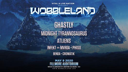 Wobbleland w Ghastly Midnight Tyrannosaurus ATLiens and more