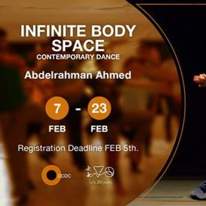 Infinite Body Space (Contemporary Dance) Intermediate Course With Abdelrahman Ahmed