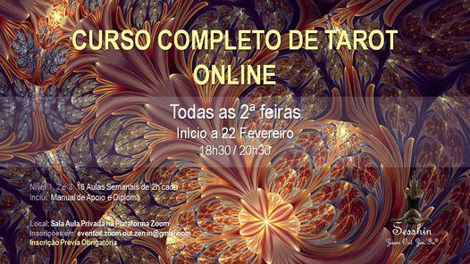 Curso Completo de Tarot Online, 8 March | Event in Porto | AllEvents.in