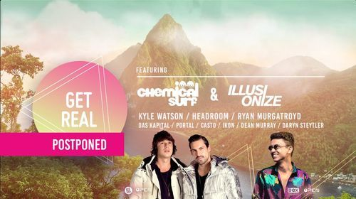 GET REAL   Ft. Chemical Surf & Illusionize, 4 December   Event in Brackenfell   AllEvents.in