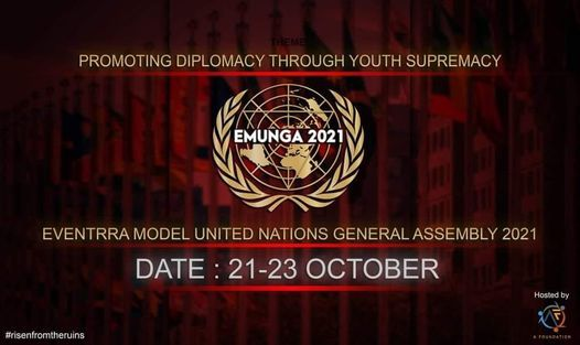Eventrra Model United Nations General Assembly 2021 | Event in Dhaka | AllEvents.in
