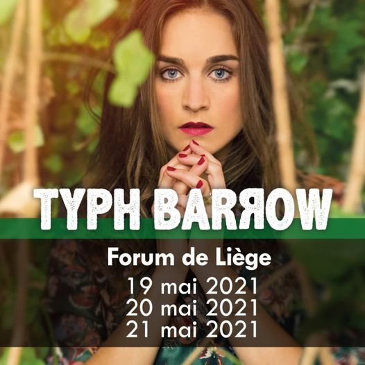 Typh Barrow, 20 May | Event in Liège | AllEvents.in
