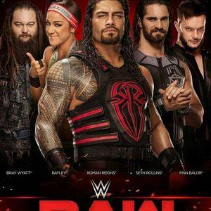 WWE Monday Night RAW live 2020