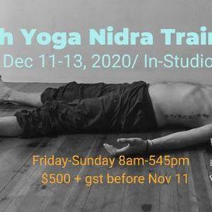 30hr Yoga Nidra Training - In Studio