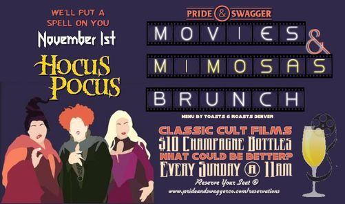 Movies & Mimosas Brunch - Hocus Pocus, 1 November | Event in Denver | AllEvents.in