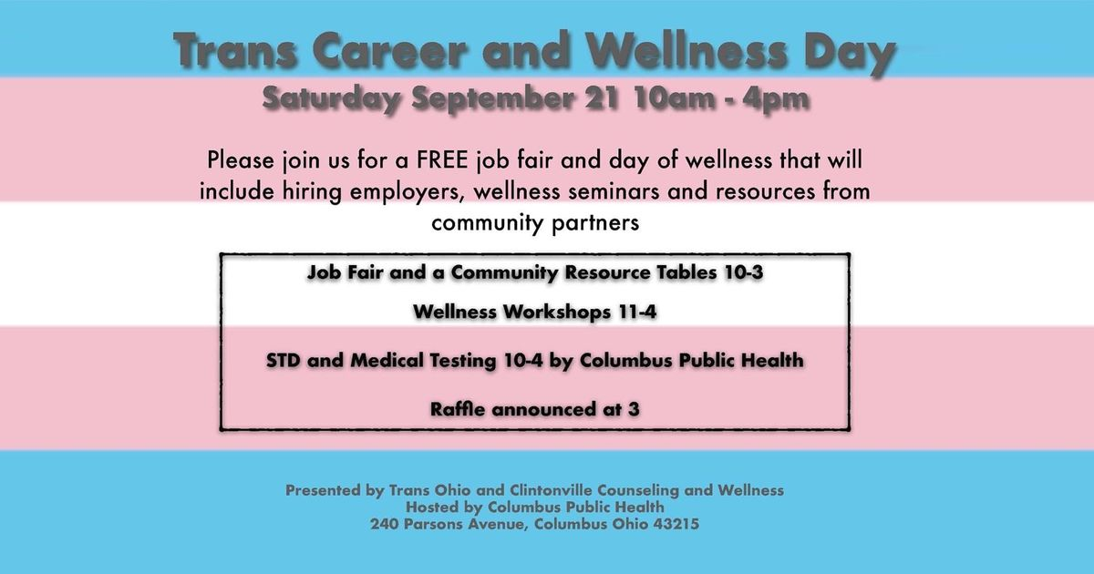 2nd Annual Trans Career & Wellness Day