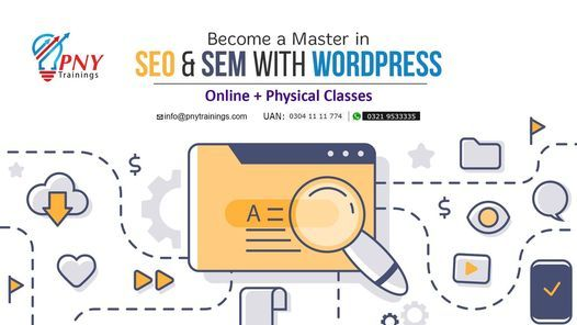 Become a Master in SEO & SEM with WordPress   Event in Lahore   AllEvents.in