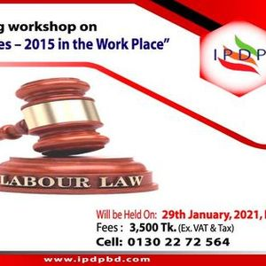 Day long workshop on Labor Laws & Rules  2015 in the Work Place
