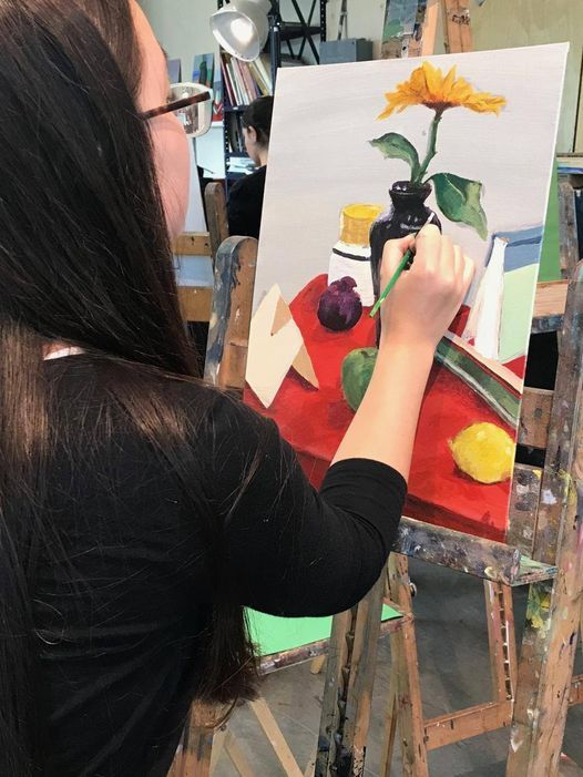 Oil & Acrylic Easel Painting II | Event in Montclair | AllEvents.in