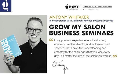 Antony Whitaker - Grow My Salon Seminars at The Temple