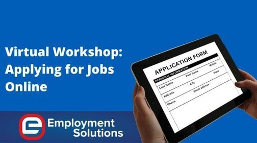 Virtual Workshop: Applying for Jobs Online, 24 March | Online Event | AllEvents.in