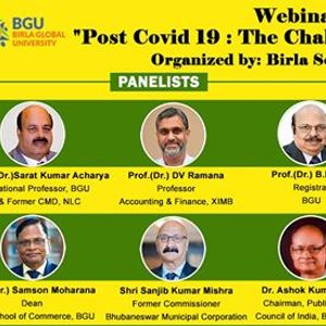 Webinar on Post Covid 19  The Challenges of Governance