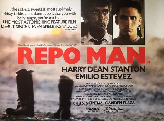 VHS Chronicles: Repo Man (1984, Alex Cox), 12 November | Event in Athens | AllEvents.in
