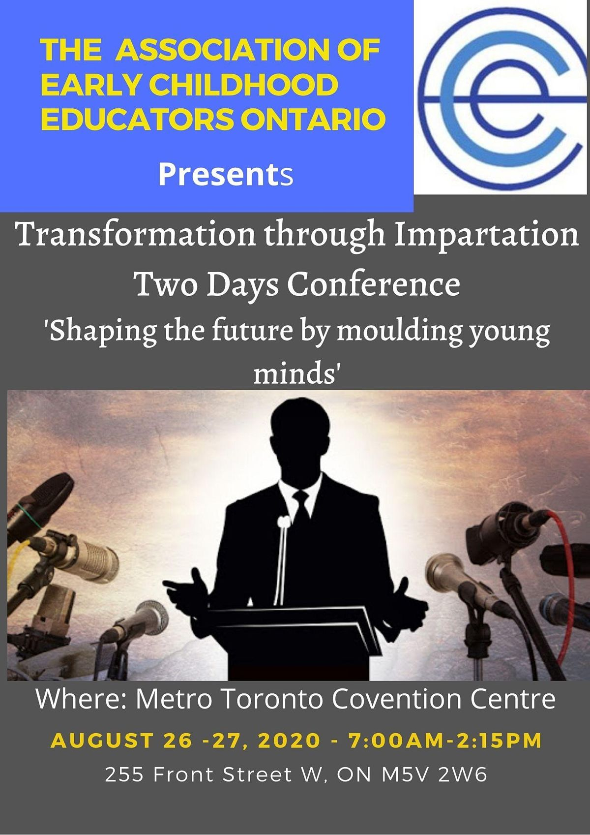Copy of Transformation through Impartation Two Days Conference