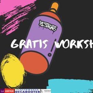 Gratis Workshop Graffiti