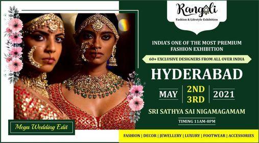 Rangoli Grand Wedding Special Exhibition - HYDERABAD, 5 June | Event in Hyderabad | AllEvents.in