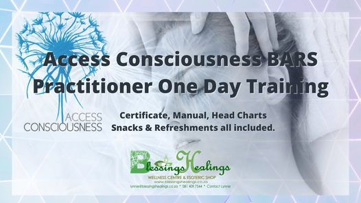 Access Consiousness Bars Practitioner One Day Training, 27 March | Event in Randburg | AllEvents.in