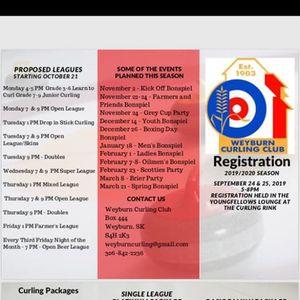 Weyburn Curling Club Registration