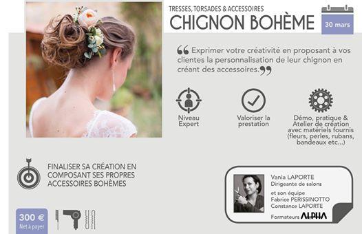 Chignon Boheme At Trend S Academy Bordeaux