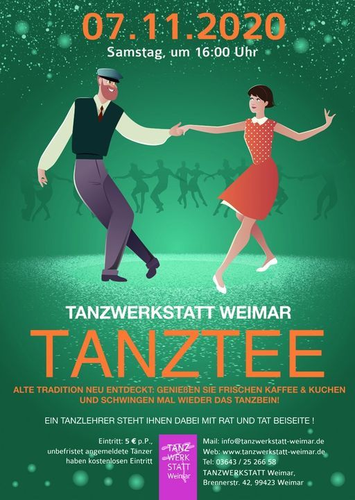 Tanztee-Übungsabend am 7.11.! | Event in Weimar | AllEvents.in