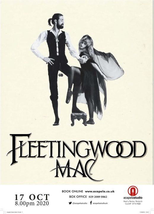 Fleetingwood Mac - Tribute to Fleetwood Mac, 6 March | Event in Cardiff | AllEvents.in