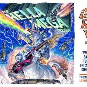 Hella Mega Tour - Dunedin - Not Proceeding