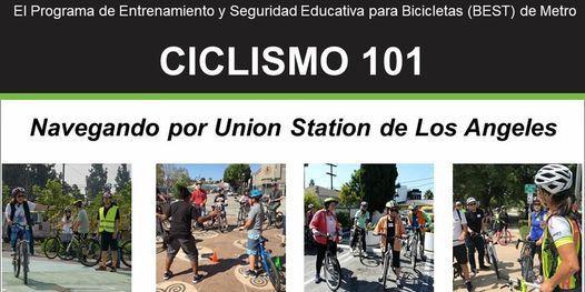 Ciclismo 101: Navegando por Union Station de Los Angeles - En línea, 22 May | Online Event | AllEvents.in