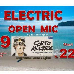 Electric open mic al Corto Maltese