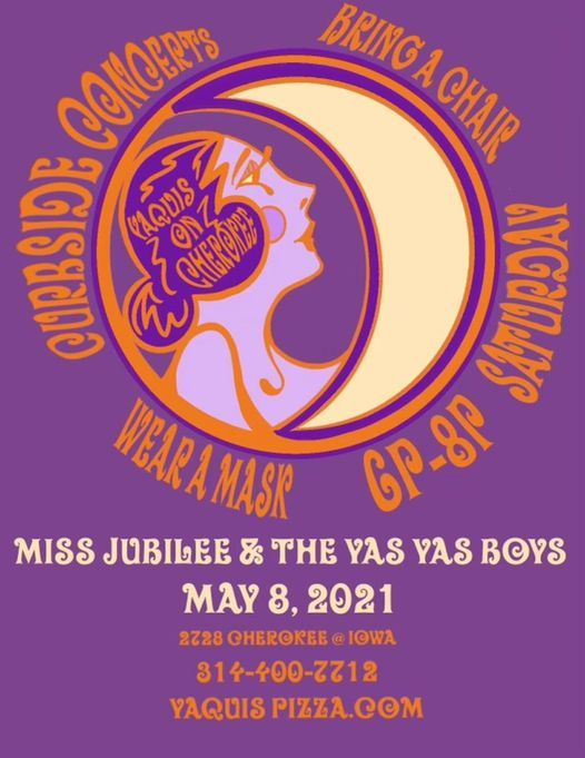 Curbside Concert with Miss Jubiliee and the Yas Yas Boys | Event in St. Louis | AllEvents.in