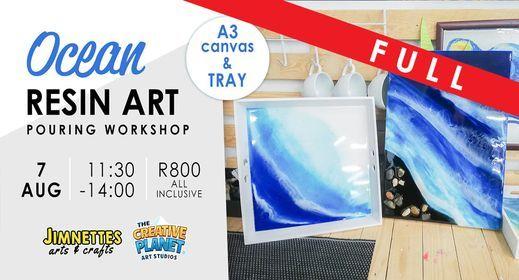 Ocean Resin Art Class, 7 August | Event in Pretoria | AllEvents.in