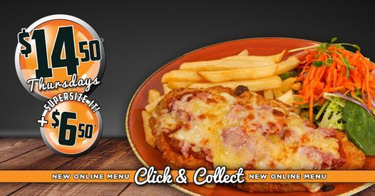 Thursday offer - Chicken Parmi!, 27 May | Event in Coffs Harbour | AllEvents.in