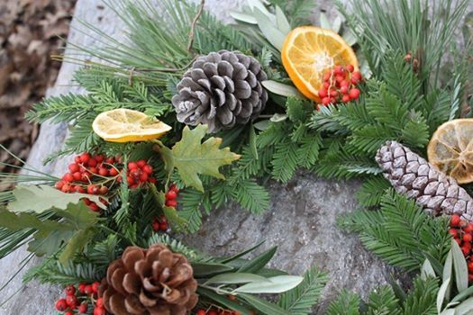 Holiday Evergreen Wreath Workshop