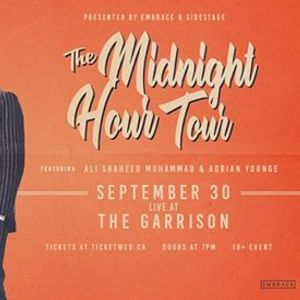 The Midnight Hour at The Garrison  Sept 30