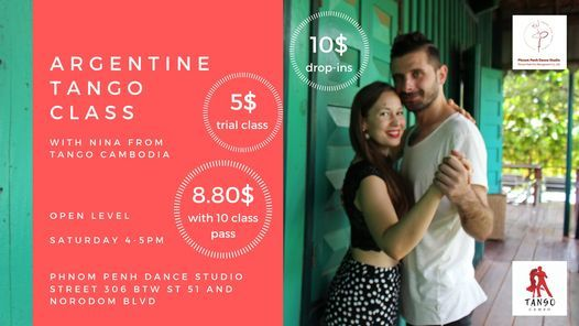 Argentine Tango Class @ PP Dance Studio, 6 March | Event in Phnom Penh | AllEvents.in