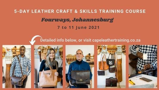 Johannesburg : 5-Day Leather Craft Course, 7 June | Event in Midrand | AllEvents.in